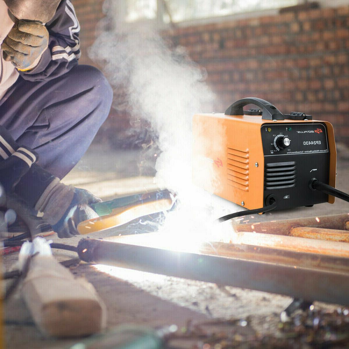 130 MIG Core WIre Welding Machine Free Orange