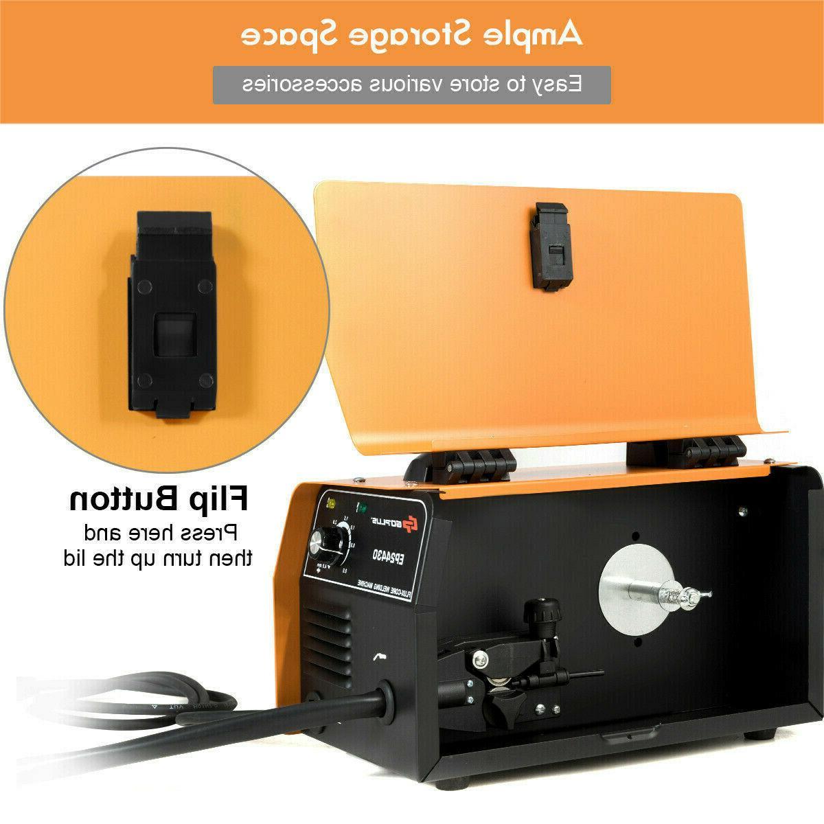 130 Core WIre Automatic Welding Machine Free Orange