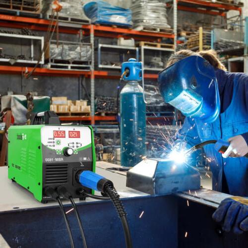 MIG Welder Inverter Flux Core Gasless/Gas 4 in Welding Machine
