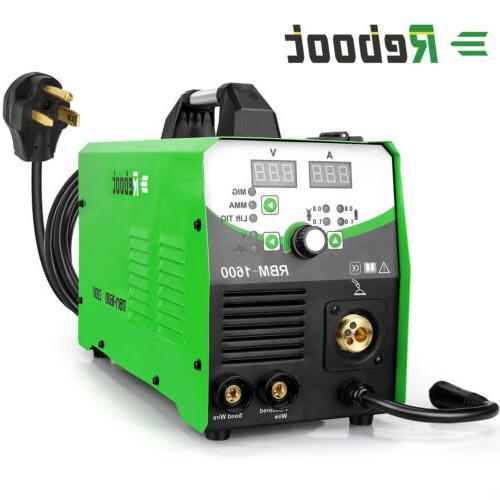 MIG Welder 160A Inverter Flux Gasless/Gas 4 1 Welding Machine