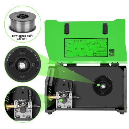 MIG 160A Inverter Core Wire Gasless/Gas Welding