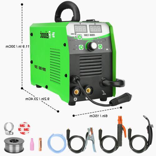 MIG Welder Flux Core 220V 130A Gas/Gasless Inverter MIG/Stic