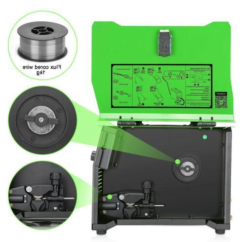 MIG Welder Flux Core 220V 130A MIG/Stick/Lift