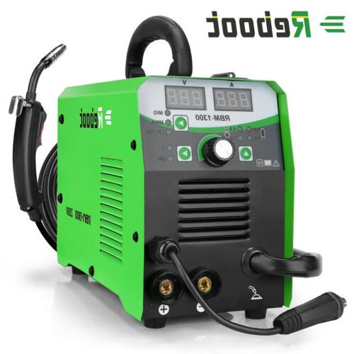 mig welder flux core 220v 130a gas