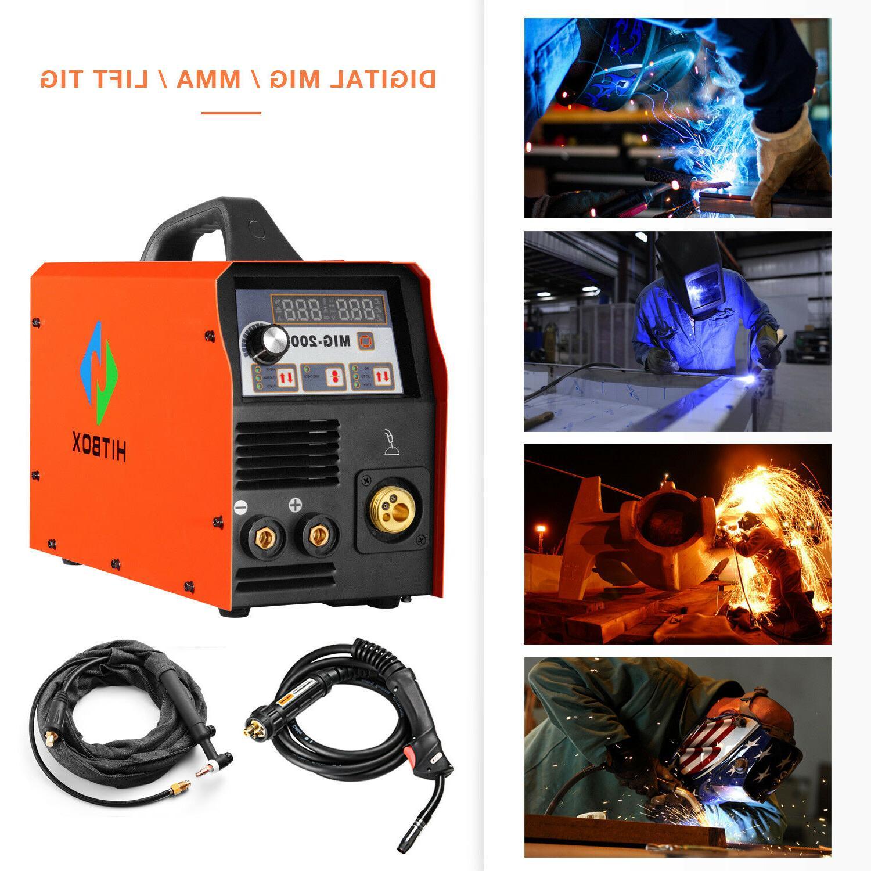 MIG Welder 200Amp 220V Inventer MAG Machine