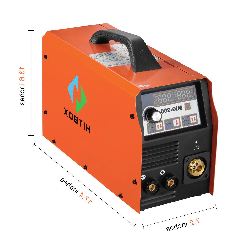 MIG Inverter 200Amp 220V ARC MIG MAG Welding Machine