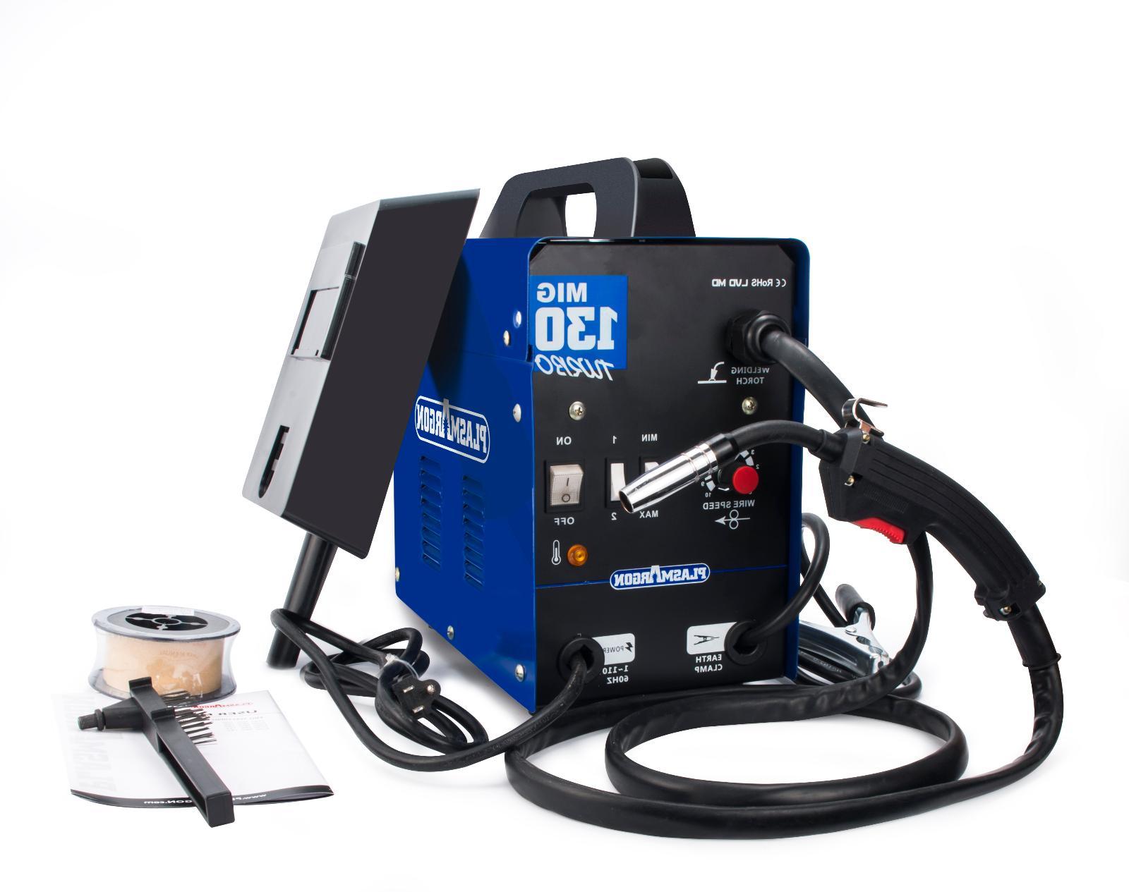 Flux Core Welder 110 Volt Mig Welding Machine Auto Wire Feed
