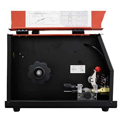 Lotos MIG140 140 Amp MIG Wire Welder Flux Gas Shielded Welding 2T/4T