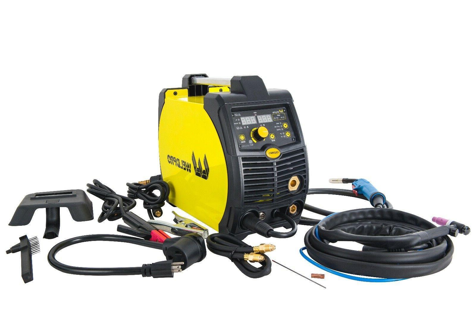 MIG200GDsv Amp Inverter Multi-Process Voltage