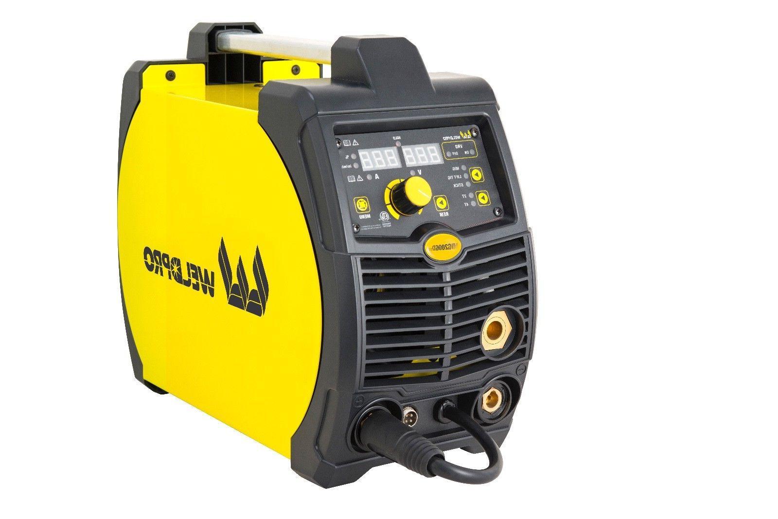 MIG200GDsv 200 Inverter Multi-Process Welder with Voltage