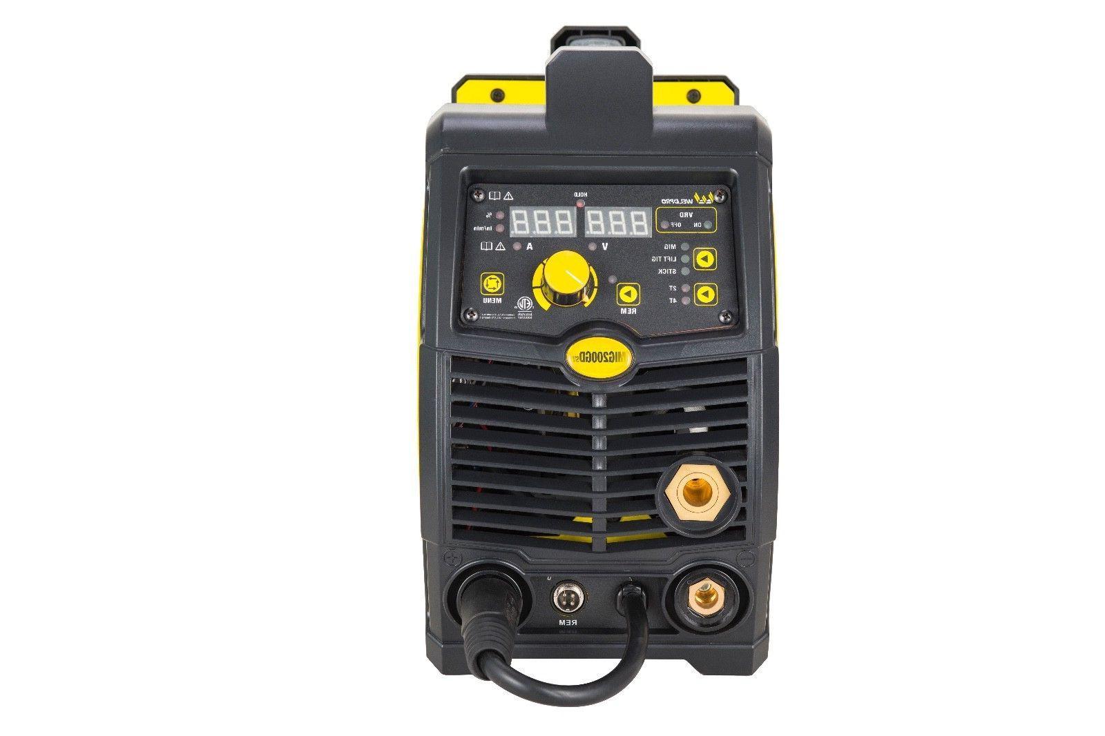MIG200GDsv 200 Amp Multi-Process Dual Voltage