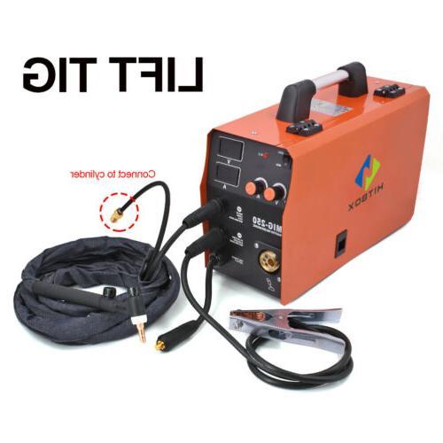 HITBOX 1 Welder Gas Gasless Machine 220V 200A