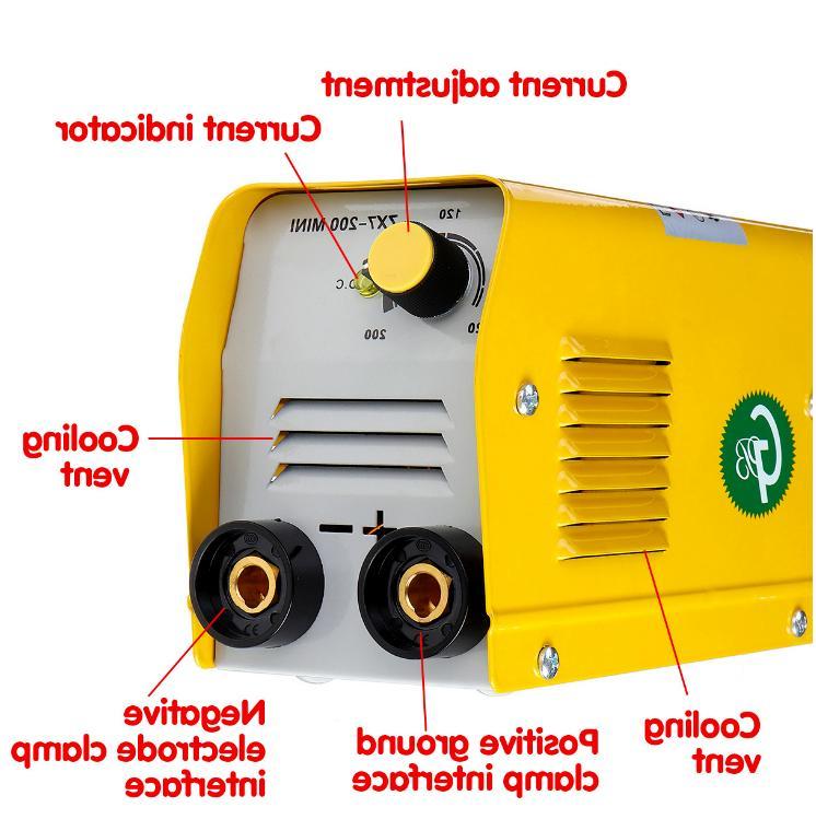 Mini Electric Machine IGBT DC Inverter ARC MMA 220V 200A