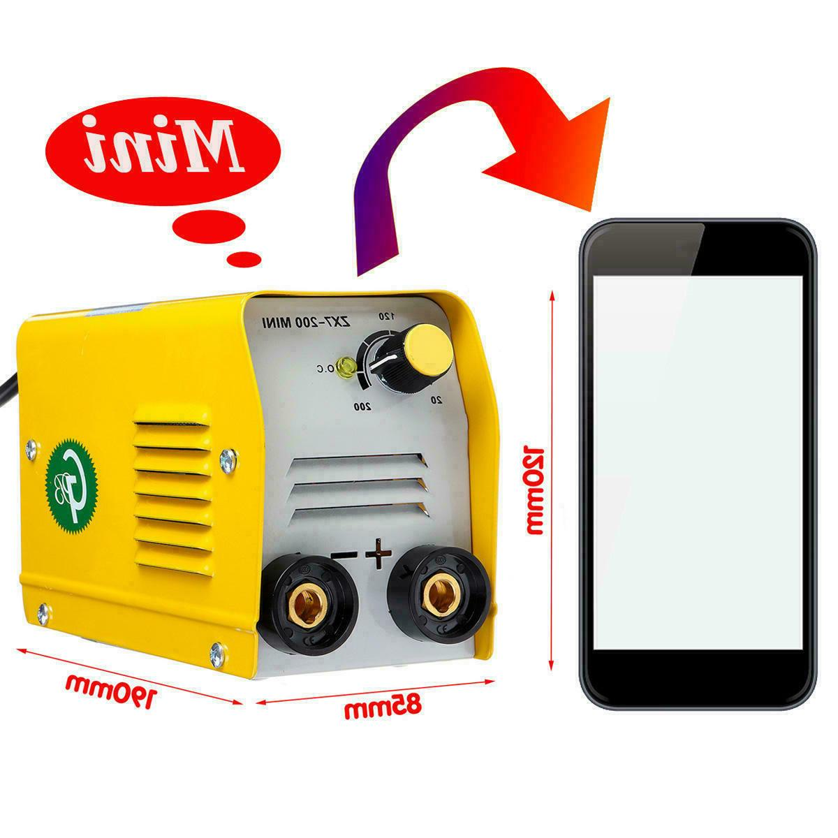 Mini Welding Machine IGBT DC MMA Handheld 220V 200A