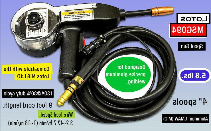 msg094 spool gun for aluminum welding
