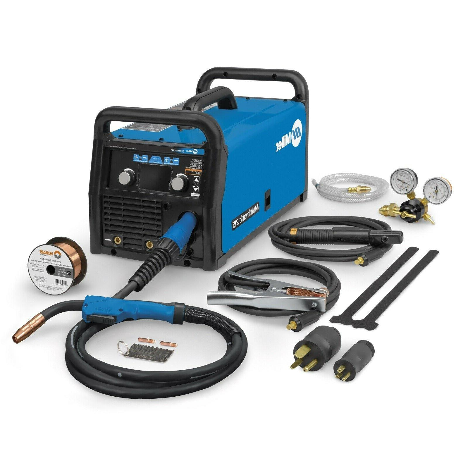 Miller Multimatic 215 Auto-Set Multiprocess Welder
