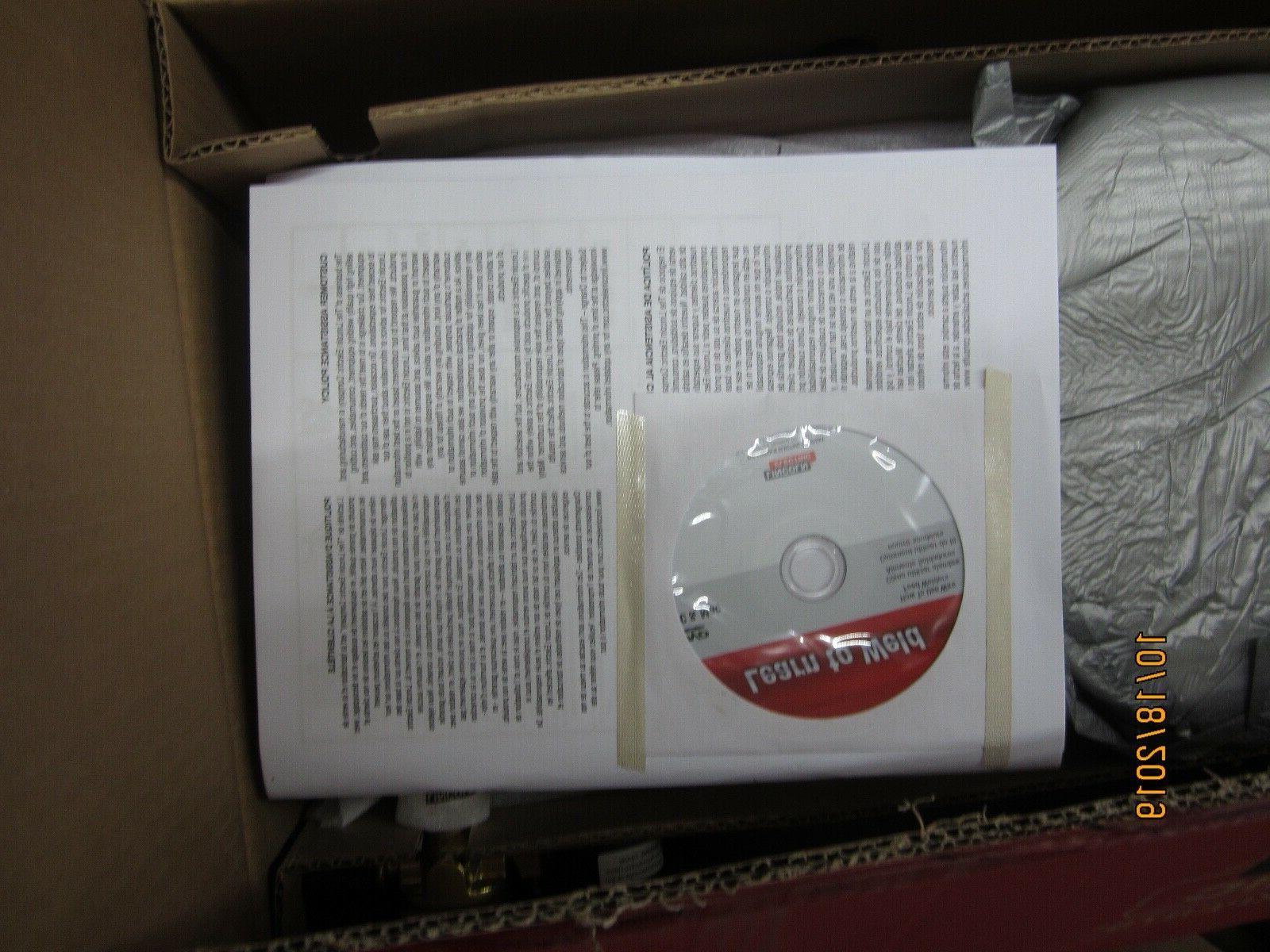 NEW 180 Welder 230-Volt Flux-Cored Wire K2481-1