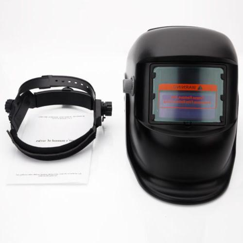 New Pro Powered Auto Welding Helmet Grinding Welder