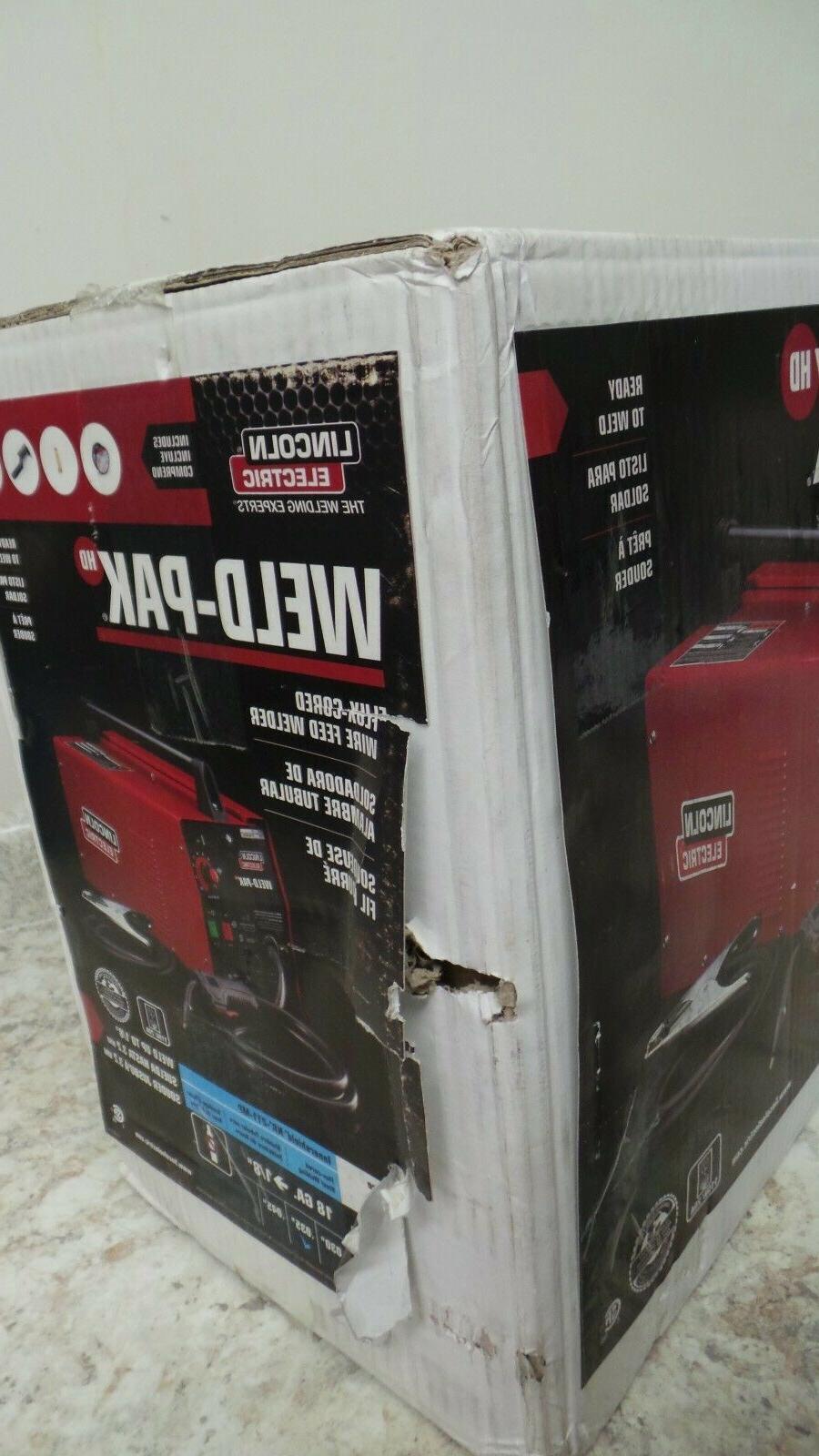 New Lincoln Weld-Pak K2188-1 Flux-Cored Feed Welder 60209-1