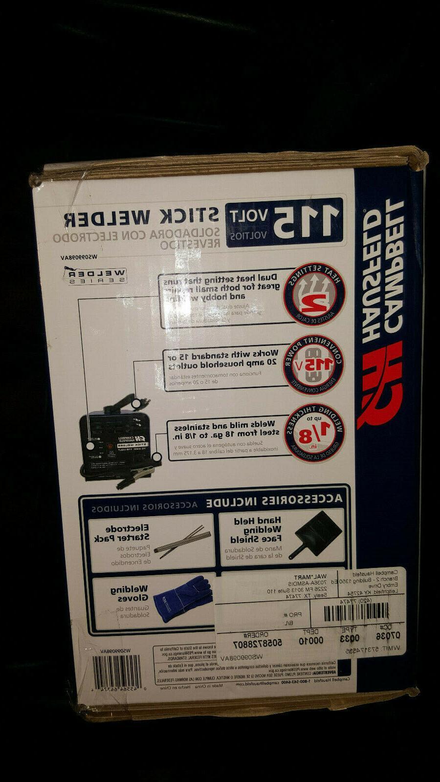 NEW Campbell Hausfeld Machine Stick Volt Amp