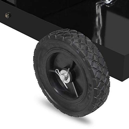 ZENY 4-Drawer Welding Cabinet Mig Plasma Welder Cart Rolling Trolley Organizer Safety