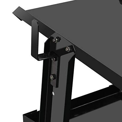 ZENY 4-Drawer Welding Cart Cabinet Tig Plasma Rolling Trolley Heavy Duty Organizer Safety Chains