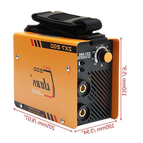 ZX7-200 220V Portable ARC Welder DC Welding