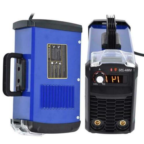 140 Amp MMA-250 Inverter Welder Portable Digital Stick Weldi