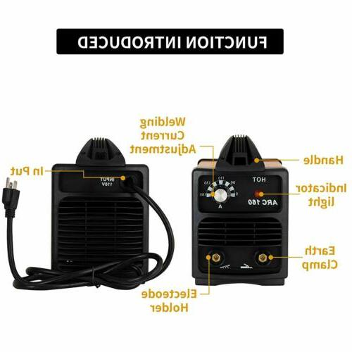 Welding Machine 110V Amp w/Mask+Brush