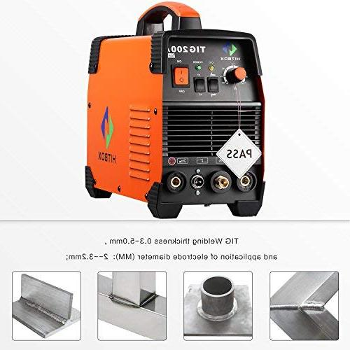 200 amp Welding Frequency 220V MMA with TIG Stick Inverter Welder