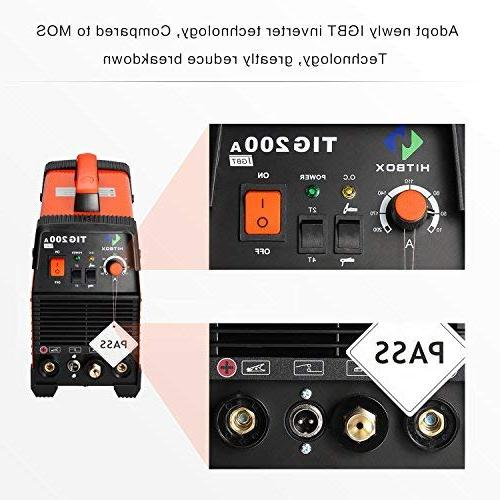200 amp Welding Machine High 220V with Stick Inverter Welder