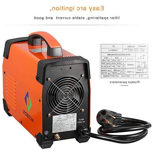 200 amp Welding 220V TIG MMA with IGBT Inverter