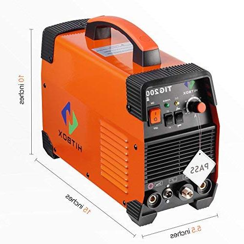 200 Portable Welding Machine 220V TIG MMA with Inverter Welder