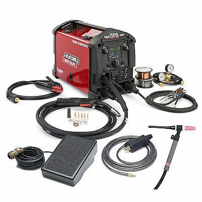 Lincoln Power MIG 210 MP Multi-Process MIG & Stick Welder wi