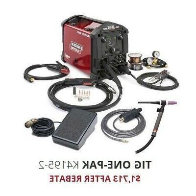 Lincoln Power MIG 210 MP Multi-Process Welder with TIG Kit K