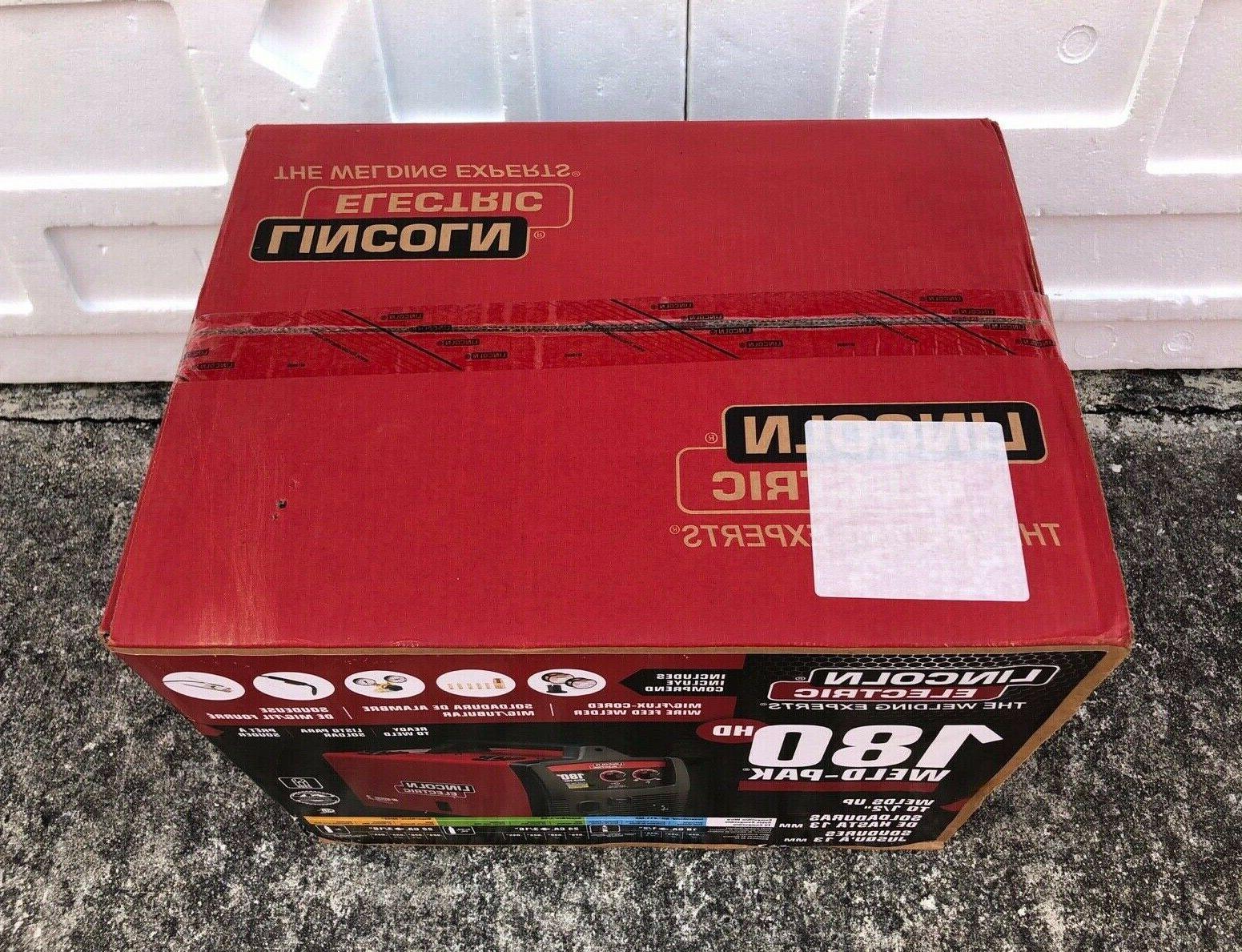 "Lincoln MIG 180 Welder K2515-1 ""Brand"