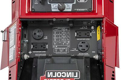 Lincoln 330MPX Engine Welder Generator Cable Package &