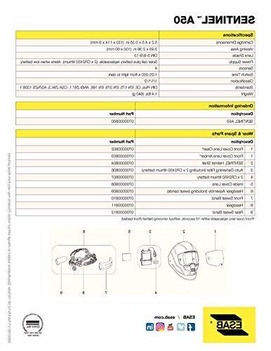 ESAB Sentinel A50 Automatic Helmet, BAG, STRIKER, CLEANER 0700000800