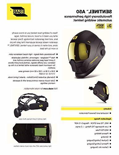 ESAB Sentinel Automatic Helmet, BAG, STRIKER, CLEANER 0700000800