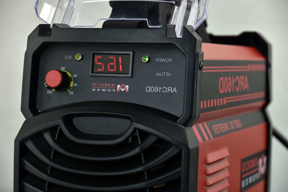 160 Amp Inverter 110/230V Dual Voltage Welding