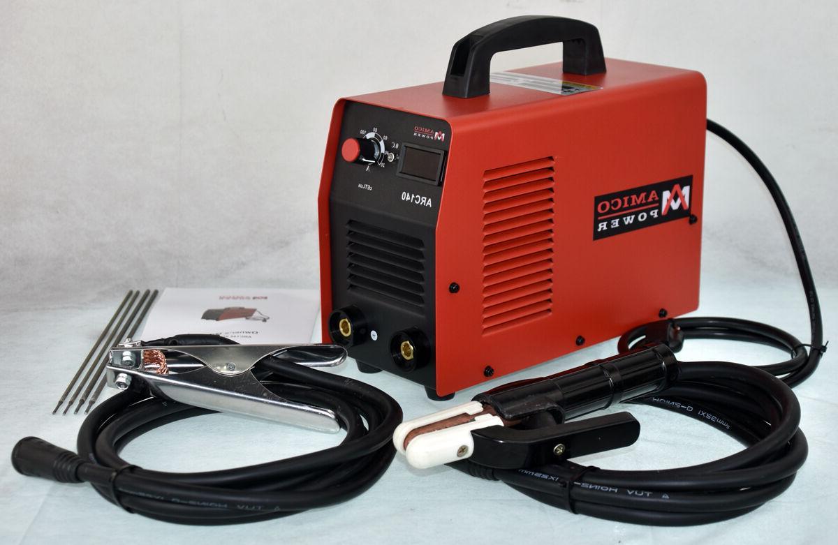 ARC-140, Amp Display Stick Welder DC Inverter Welding New
