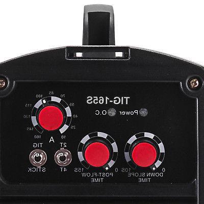 TIG-165S, 160 Amp Stick Arc 2-in-1 Inverter Welder
