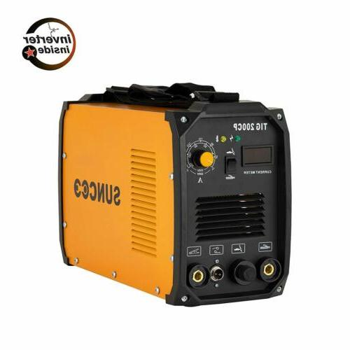 TIG Dual Voltage 110V/220V Welder with LED