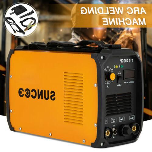 TIG 200A Dual 110V/220V Portable Welder