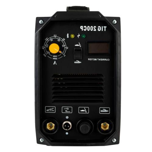TIG Machine Dual 110V/220V Portable Welder with LED Display