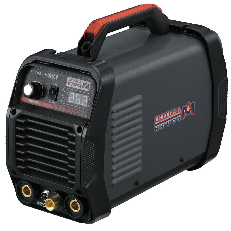 TIG-205HF, 205 TIG Torch Stick Inverter Voltage