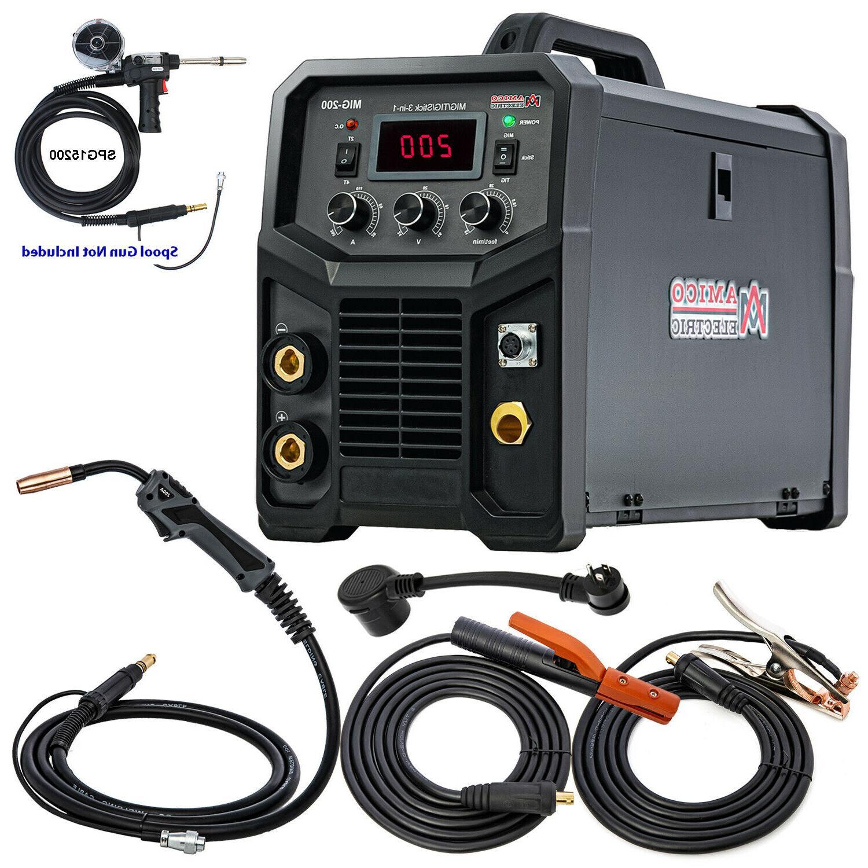 TIG-205HF, Torch Stick Arc Inverter Welder, Voltage