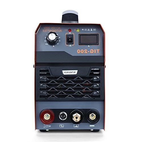 SUNGOLDPOWER 200Amp Inverter System LED Machine 110V and HF Start Package