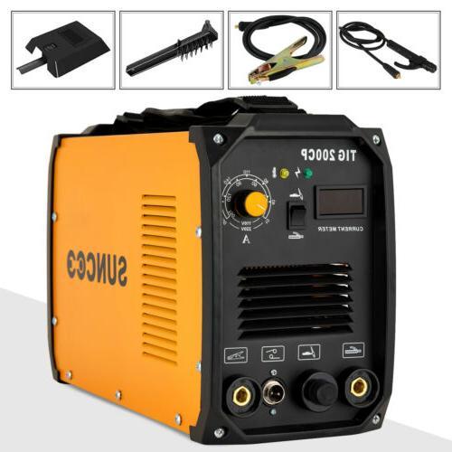 TIG 200A Welding Machine Dual Voltage 110V/220V Portable Wel