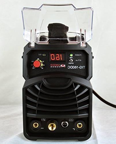 TIG 160 Torch ARC Stick DC 110/230V Dual Voltage Machine